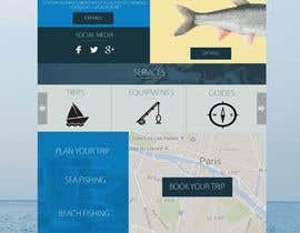 nº 23 pour Design a Website Template with a Fishing Theme par Neverseendesign