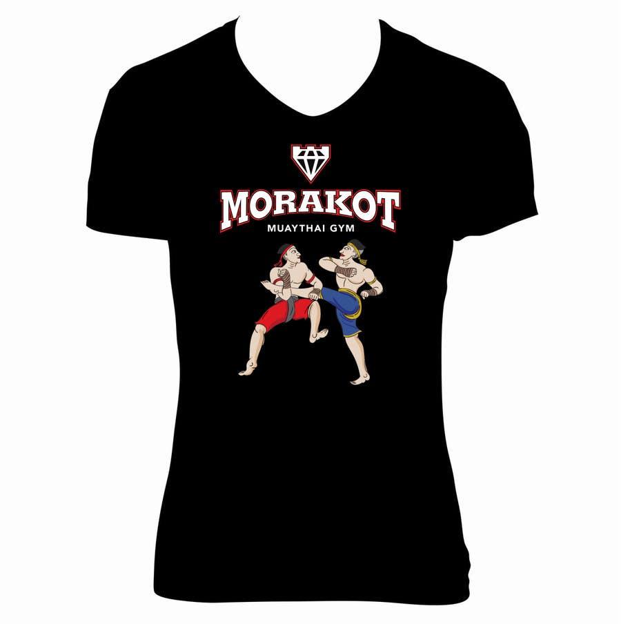 Kilpailutyö #                                        7                                      kilpailussa                                         Muay Thai T-Shirt Design for a gym in Melbourne Victoria