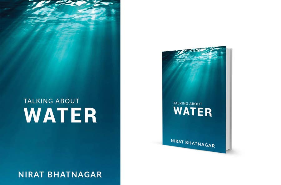 entry 10 by mdahmed2549 for book cover design for water