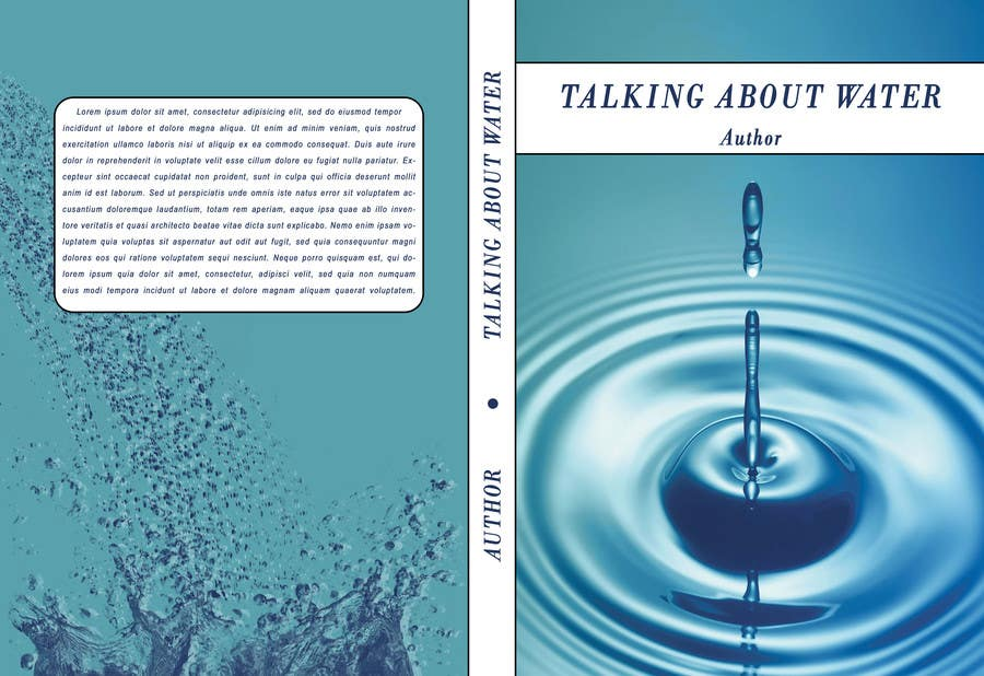 Proposition n°32 du concours Book cover design for Water & Sanitation book