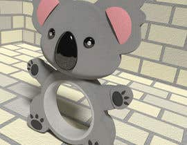 nº 9 pour Do some 3D Modelling - Koala Baby Teether par DigitalFlower