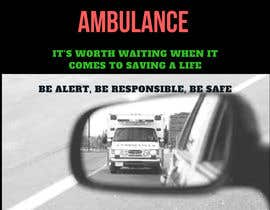 #25 for Ambulance Poster Designing by Sowgandhika19