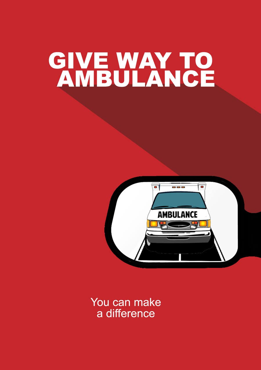 Image result for give way ambulance