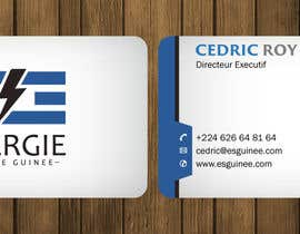 nº 29 pour business card ESG par petersamajay