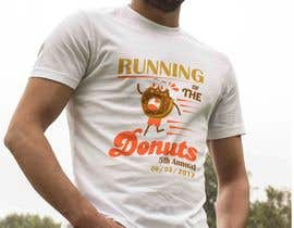 #10 for Design a T-shirt for the 5th Annual Running of the Donuts by pherval