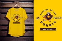 Proposition n° 54 du concours Graphic Design pour Design a T-shirt for the 5th Annual Running of the Donuts