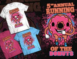 #49 for Design a T-shirt for the 5th Annual Running of the Donuts by Isodexxx