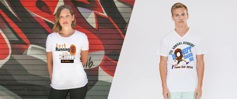 Proposition n°39 du concours Design a T-shirt for the 5th Annual Running of the Donuts