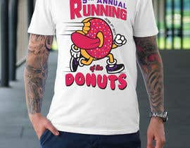 nº 15 pour Design a T-shirt for the 5th Annual Running of the Donuts par samhaque2