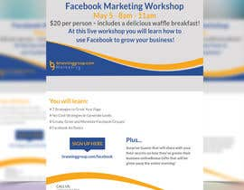 #22 for Design a Flyer for Facebook Marketing Workshop by ibrahim4160