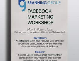 #5 for Design a Flyer for Facebook Marketing Workshop by sabuz07