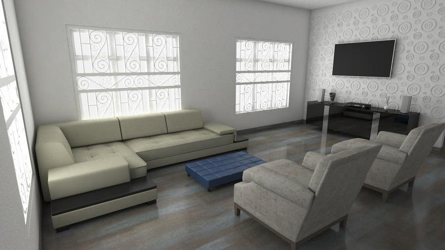 Groovy Entry 17 By Acastilloo For 3D Design For Sectional Sofa Gamerscity Chair Design For Home Gamerscityorg