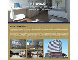 nº 46 pour Create Marketing Flyer to for Future Apartment Complex par bivash7