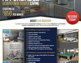 nº 115 pour Create Marketing Flyer to for Future Apartment Complex par lowie14