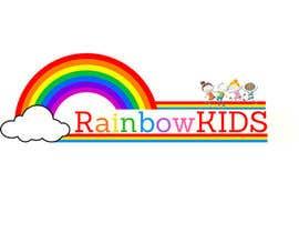 nº 71 pour Logo design for rainbowkids par rizaureyes8