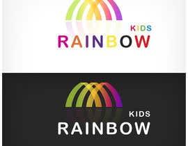 nº 50 pour Logo design for rainbowkids par khuramsmd