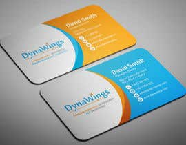 nº 18 pour Design Business Card for DynaWings Kft par smartghart