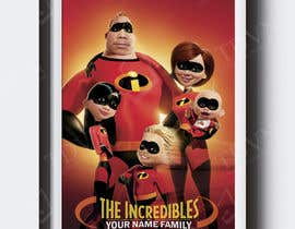 nº 15 pour Photoshop a family picture for me  - The Incredibles par TDuongVn