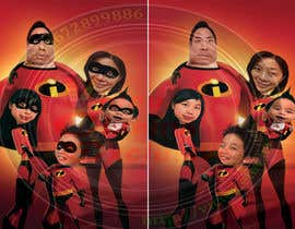 nº 16 pour Photoshop a family picture for me  - The Incredibles par vcevovan