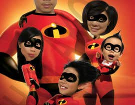 nº 22 pour Photoshop a family picture for me  - The Incredibles par parallel01