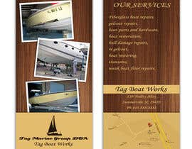 #8 untuk Graphic Design for Tag Marine Group DBA Tag Boat Works oleh Doubletstudio