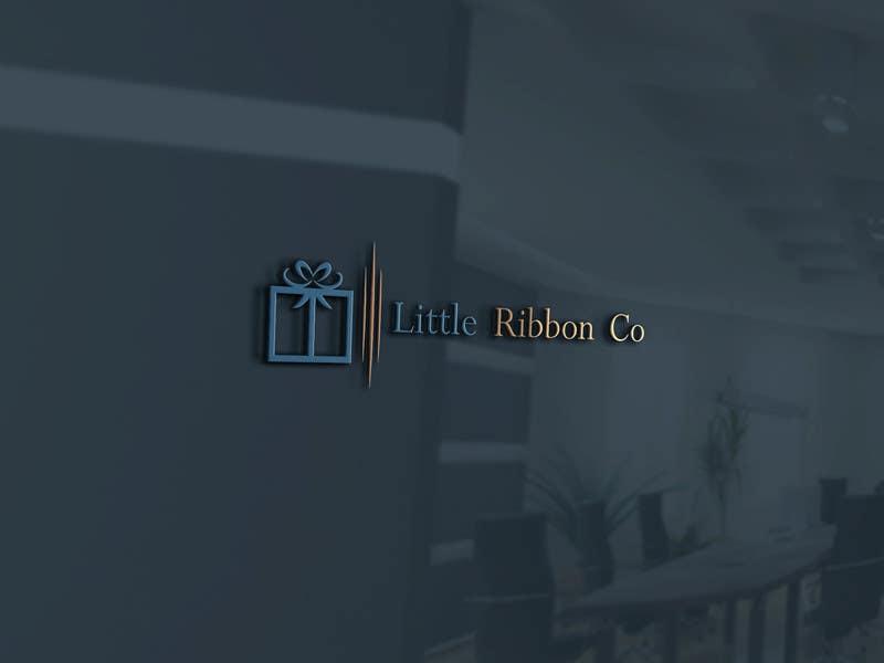 Proposition n°169 du concours Design a Logo- Little Ribbon Co.