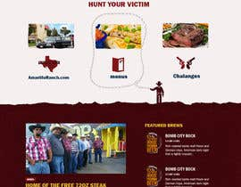 #22 for Western / Rustic Style Website Design & Subpage by rohan0571