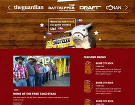 #44 for Western / Rustic Style Website Design & Subpage by rohan0571