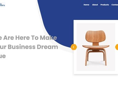 Perfecto exports is a website where user can see  hand crafted  products and can enquiry for products.  Perfecto exports also have some products where user cannot see user have to contact to support for email and pin. User have to enter email and code to see the products.  Environment: Laravel