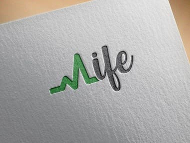 logo for my new Home Care Company. (Healthcare)  The name is LIFE