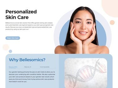 This is a WordPress woo-commerce website. in this first, I have to convert PSD to HTML then HTML to WordPress. The live site link is https://bellesomics.com/