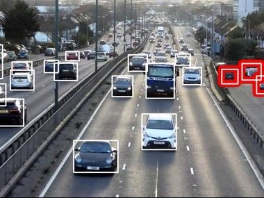 Suspicious Vehicle Detection and Recognition using Deep Learning
