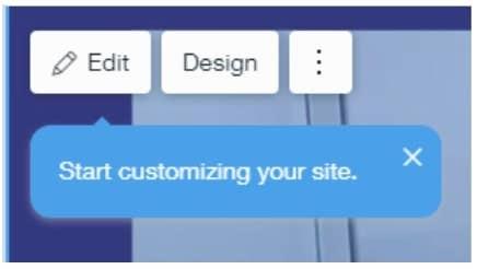 wix adi editing website