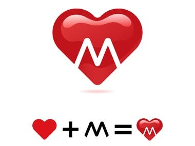 M Heart Logo