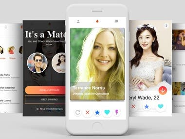 This dating app is similar to tinder dating with exciting features and help user to quickly browse through photographs of other users.