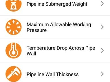 IPEC Toolbox is a handy tool for Oil, Gas & Petrochemical engineers. This application provides common formulas in design, test and pre-commissioning of the oil & gas pipelines.  Both Android and iOS Versions are ready for following calculations:  Design Calculations: -Pipeline Submerged Weight -Maximum Allowable Working Pressure -Temperature Drop Access Pipe Wall -Pipe Wall Thickness  Pre-Commissioning Calculations: -Pressure Drop for Fluid Flow in Pipelines -Inhibitor Chemical and Sea Dye Injection Rate -Pipeline Internal Volume -Dew Point Temperature -Mean Flow Velocity -Pig Launching and Receiving Time Prediction  Links to download: https://apps.apple.com/us/app/ipec-toolbox/id1017269434 https://cafebazaar.ir/app/com.redcube.ipectoolbox.ipectoolbox