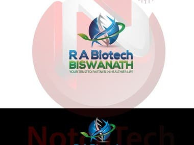 Logo Related to Biotechnology.