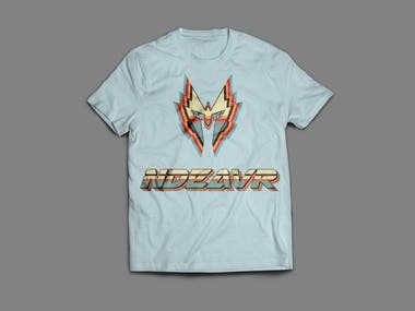 Retro T Shirt design for a company with their logo