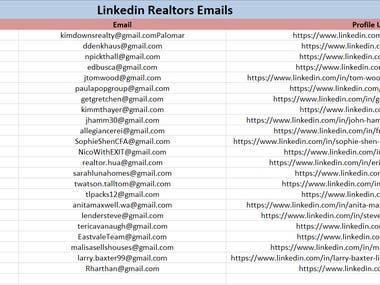 Realtors, Professors, CEO Emails