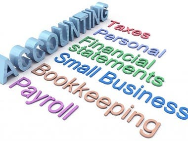 We are offering a vide range of services to fulfill your business needs. Here is the list of our services:  - Account reconciliation - Bank reconciliation - Financial analysis using accounting ratios - Tax preparation - Filing of tax return  Feel free to contact us for any kind of accounting and financial services.  Thank you