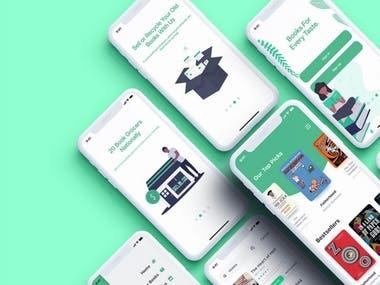 App UI / UX Design
