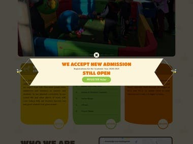 This web site is implemented for children of Qatar by Ahmed in 4.1.2020.