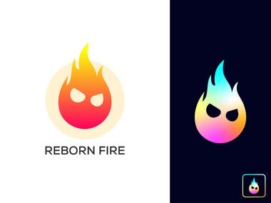 Reborn Fire Logo Design