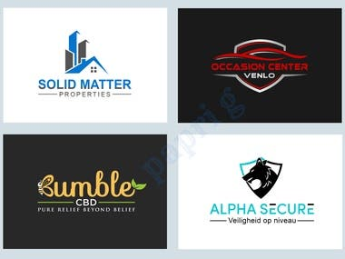 Creative and professional quality logo design