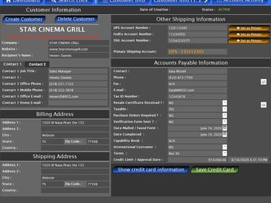 Created custom system to handle this clients needs.