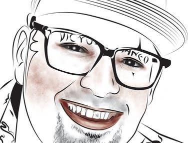 Vector digital portraits