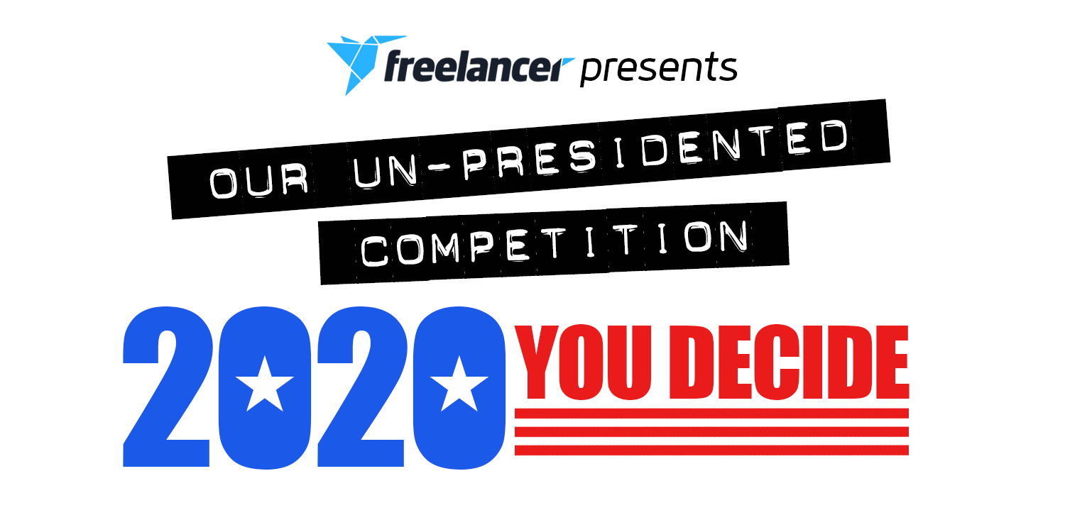 Cover photo for Freelancer's Un-Presidented Presidential Logo Contest