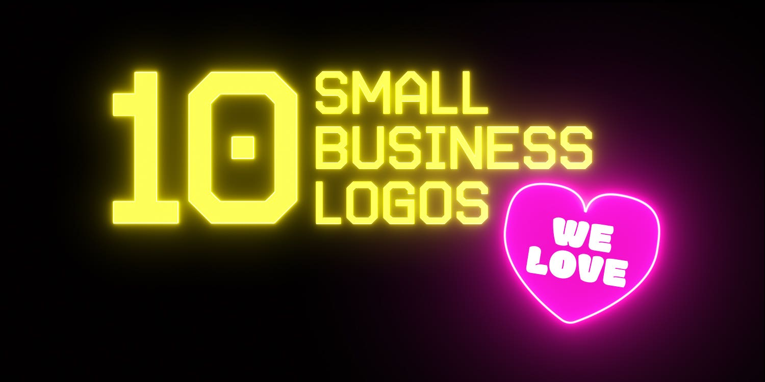 Cover photo for 10 great small business logos we love