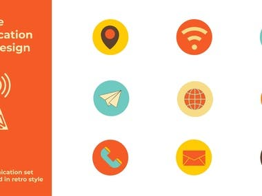 Hello creative and professional buyers. Are you looking for custom icons for your website, online store, android theme, mobile app etc and the icons which will be affordable for you? Then you are in the right gig.  I will design modern, elegant, simple, flat, line, awesome custom icon set/ button for you. I have 3+ years experience and also I am a awarded graphic designer.  Services you will get:  Original custom icon premium quality Any kind of file (Ai, Eps, Psd, Png, Svg etc) Any kind of size ( from 48*48 pixel to 512*512 pixel) Unlimited Revision Source file Commercial use Simple and meaningful icons/ icon set  Thanks.