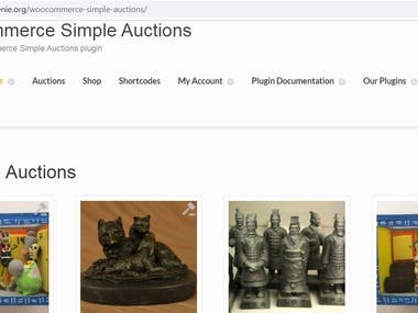 1-Woo-commerce Auction Plugin customization 2-Woo-commerce wallet customization 3.Deduct wallet amount when user click on bid now button 4.Add custom field in add product woo-commerce